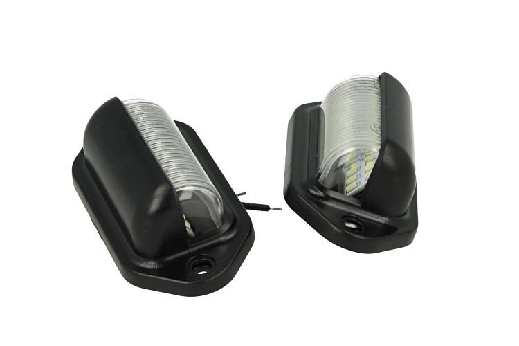 Kit luci targa led universale v w lampada ingombro per moto