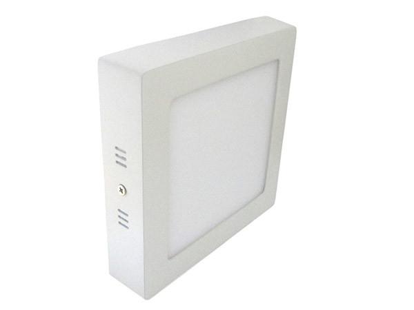 Plafoniera Muro : Plafoniera faretto led da soffitto muro parete quadrata w bianco