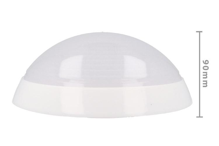 Plafoniera Led Da Interno : Ledlux plafoniera led da soffitto parete e muro 7w 220v bianco