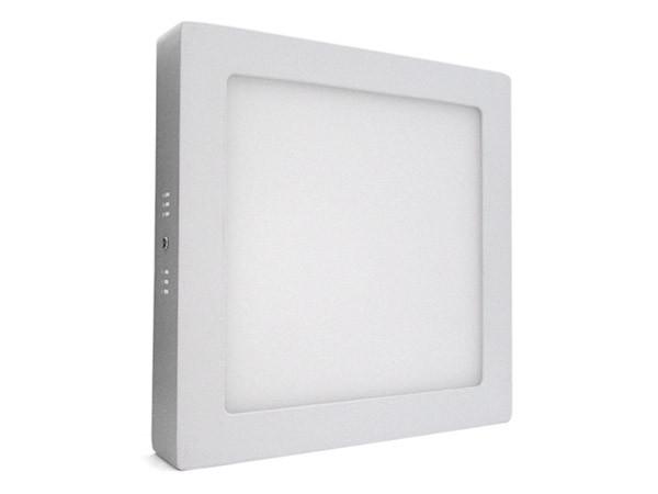 Plafoniera Quadrata Led : Ledlux plafoniera faretto led da soffitto muro parete quadrata w