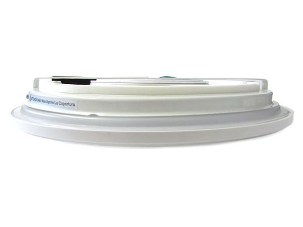 Plafoniera Led Da Soffitto : Ledlux plafoniera a led slim da soffitto 20w 220v bianco caldo