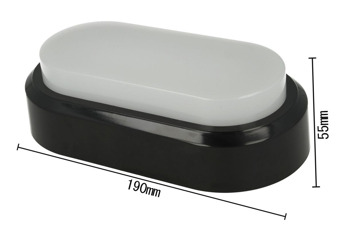 Plafoniera Led Rettangolare : Ledlux plafoniera led applique da parete soffitto ovale rettangolare