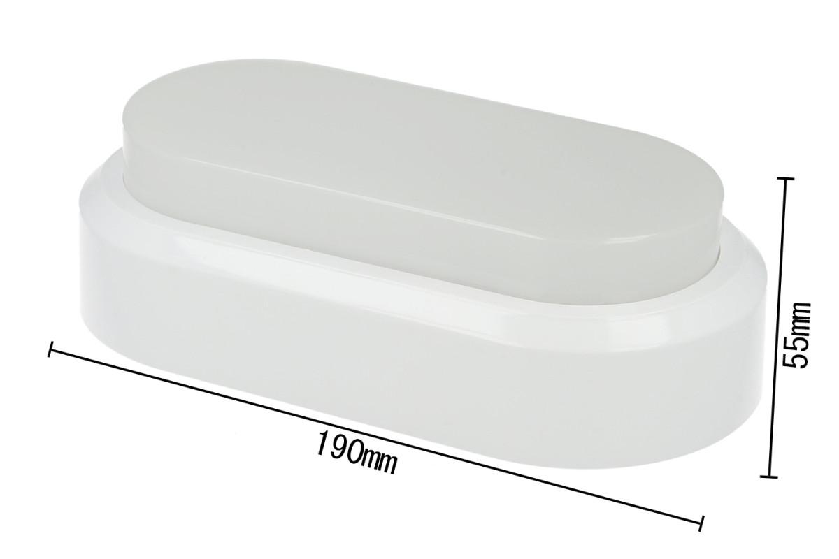 Plafoniere Led A Soffitto : Plafoniera led applique da parete soffitto ovale rettangolare