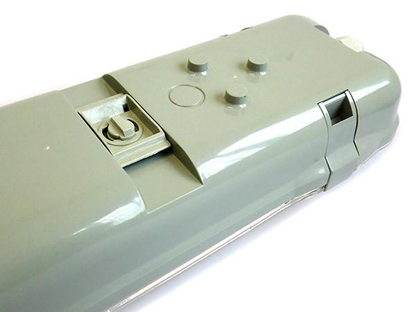 Plafoniera Tubo Led Esterno : Plafoniera stagna doppio tubo led t8 120cm x 2 neon a
