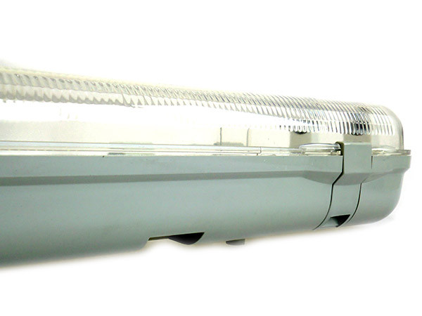 Plafoniera Con Tubo A Led : Plafoniera stagna doppio tubo led t cm impermeabile ip