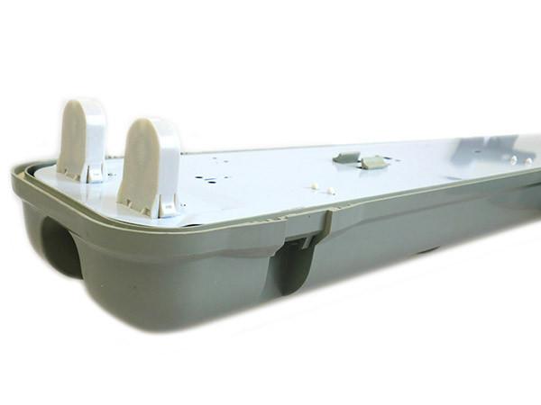 Plafoniere Stagne Per Tubi Led : Plafoniera stagna doppio tubo led t8 150cm x 2 impermeabile ip65