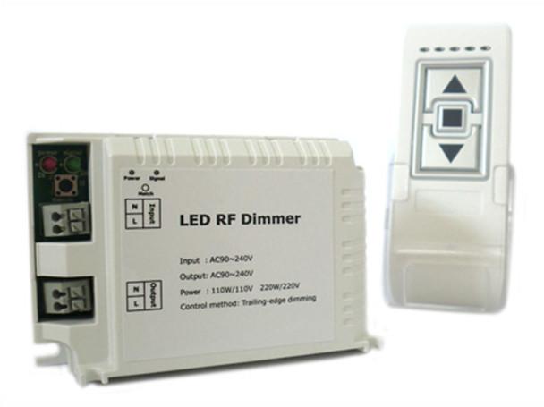 Schema Elettrico Dimmer Per Led : Ledlux varialuce led triac dimmer scr v w telecomando