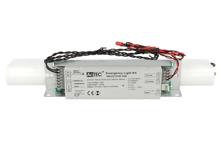 Plafoniere Con Luce Di Emergenza : Ledlux kit sistema di emergenza led voltaggio costante per tubo