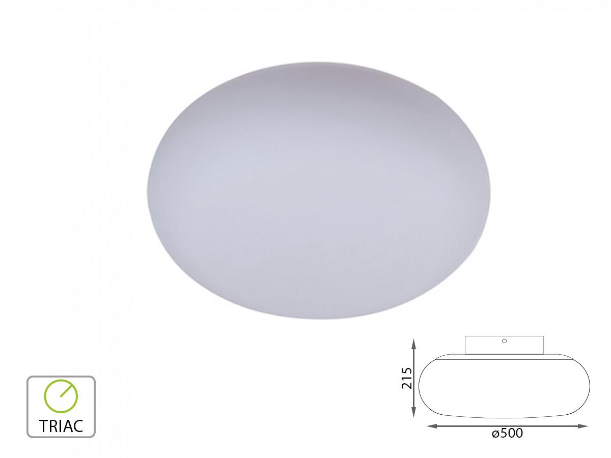 V tac applique lampada led da parete o plafoniera da soffitto