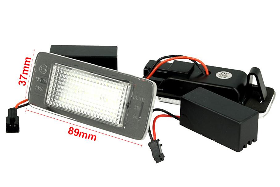 Auto e moto: ricambi e accessori led illuminazione targa modulo opel