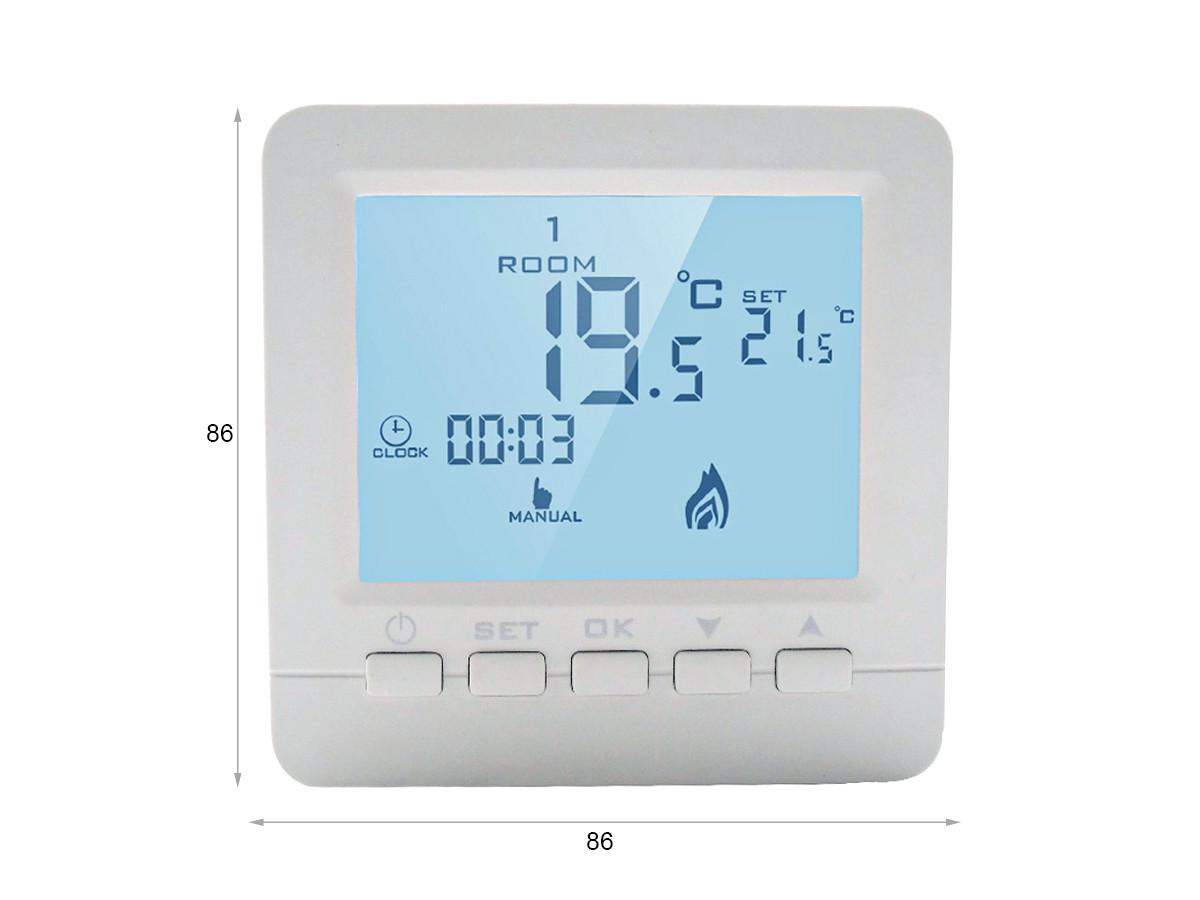 Termostato Digitale WIFI Per Caldaia A Gas Murale Da Parete Scatola 503 Alexa