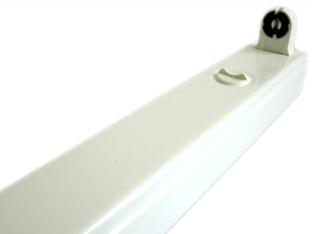Plafoniere Per Neon A Led : Ledlux porta lampada plafoniera per tubo neon t8 a led 120cm singolo
