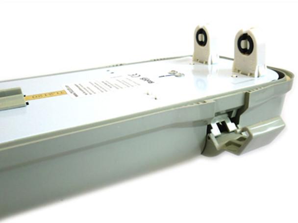 Plafoniere Neon Da Esterno : Ledlux plafoniera stagna doppio tubo led t8 120cm x 2 neon a