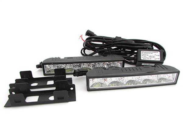 Luci Diurne Led DRLs Daytime Runing Lights 12V 5W IP65 Universale Omologato E8 R87 - KIT