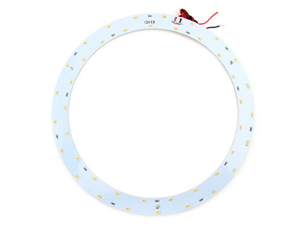 Led Plate Anello Circolare DC 12V 21W Bianco Freddo 42 Smd 5730 Diametro 310mm - PZ