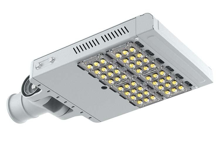 Lampione Stradale Led 100W 48 Smd Bianco Neutro Street Lamp - KIT
