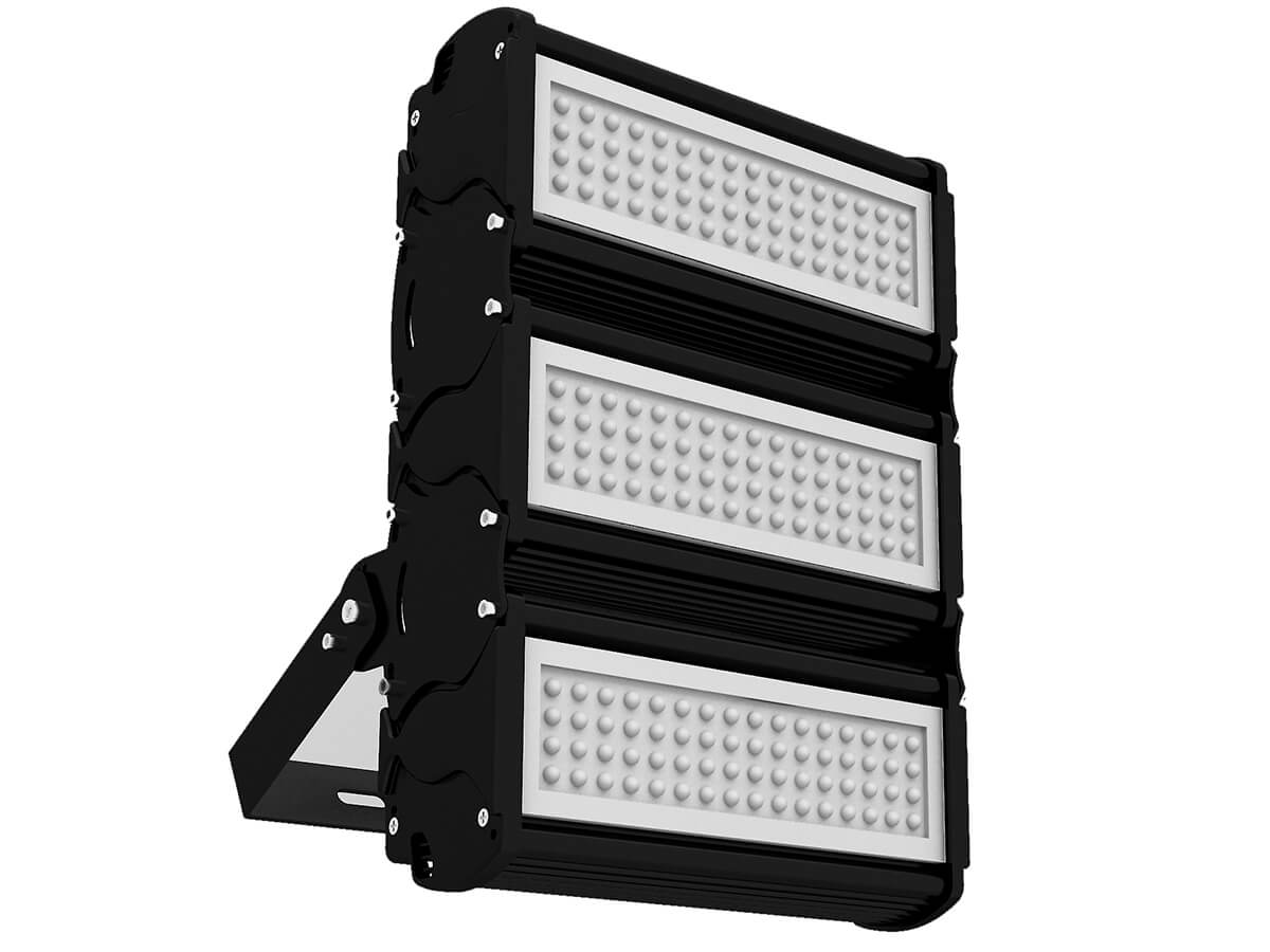 Proiettore Faro Led Modulare Versatile 150W 220V Bianco Neutro 60 Gradi - KIT
