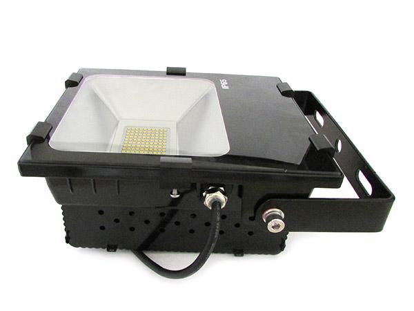 Faro Proiettore Led Esterno 50W Bianco Caldo - KIT