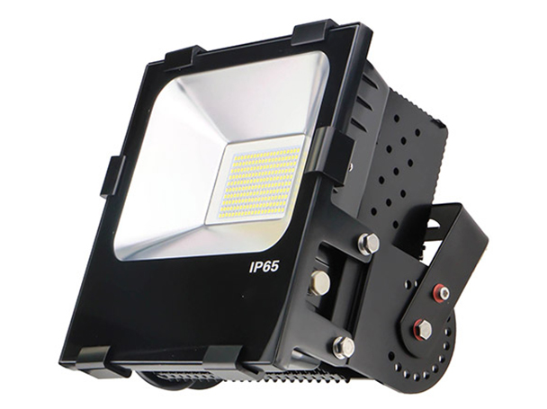 Faro Proiettore Led Flood Light IP65 100W Bianco Caldo - KIT