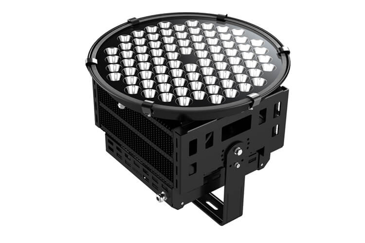 Faro Proiettore Led 500W Projection Light Pccooler TS500 Per Campo Sportivo Tennis Calcio Parchi Rotatorie Anulare - KIT