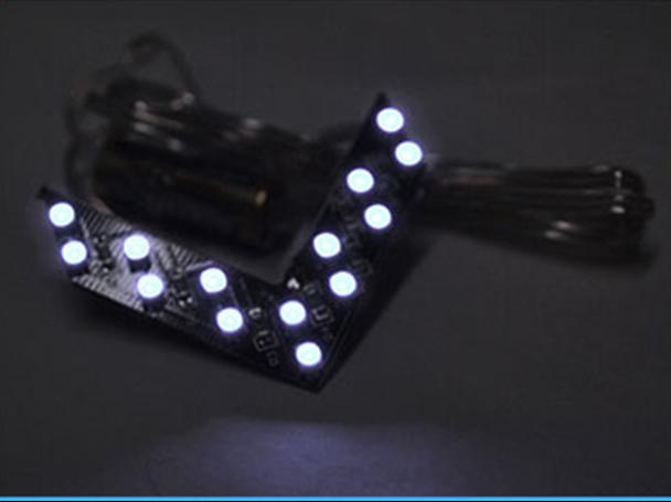 Frecce LED Arrow Led con 14 SMD BIANCO - PAIO