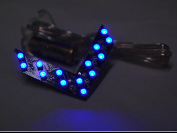 Frecce LED Arrow Led con 14 SMD BLUE - PAIO