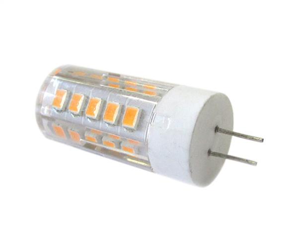Lampadina LED Bispina G4 DC AC 12V 4W 360 Gradi Bianco Caldo Con 33 Smd 2835 - PZ
