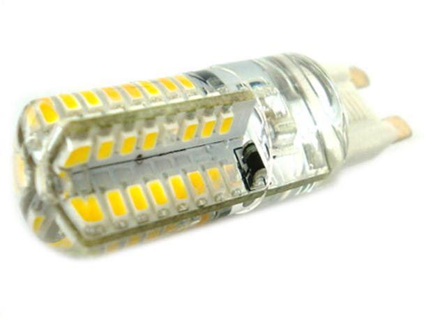 Lampada LED G9 220V 3,5W Bianco Neutro 360 Gradi Con Silicone Diametro Solo 16 mm 64 SMD 3014 - PZ