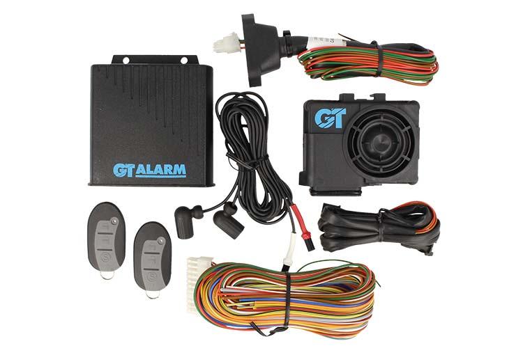 Antifurto GT Auto Alarm Universale GT914 Con Radiocomando Sirena - KIT