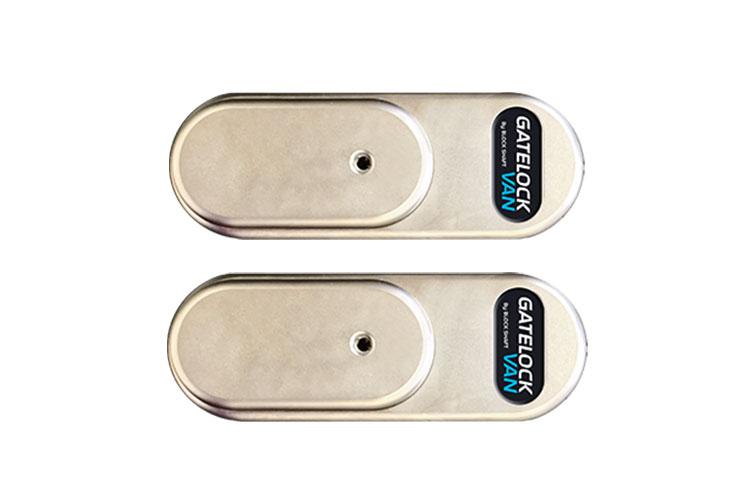 Gatelock Van Lucchetto Di Protezione Antifurto Sicurezza Per Furgone Veicolo Commerciale Medio GVM G4MB2 Con Doppio Lucchetto Chiave Unica - KIT