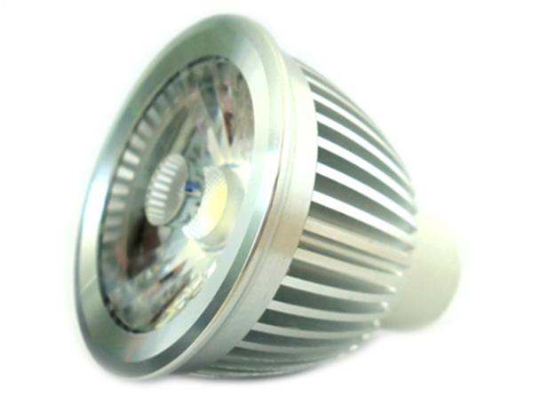 Lampada Led GU10 COB Dimmerabile Triac Dimmer 6W 220V Driverless Senza Driver Bianco Puro 5000K - PZ