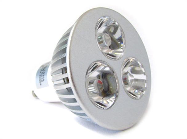 Lampada Led GU10 3X1W 220V Bianco Caldo 3000K - PZ