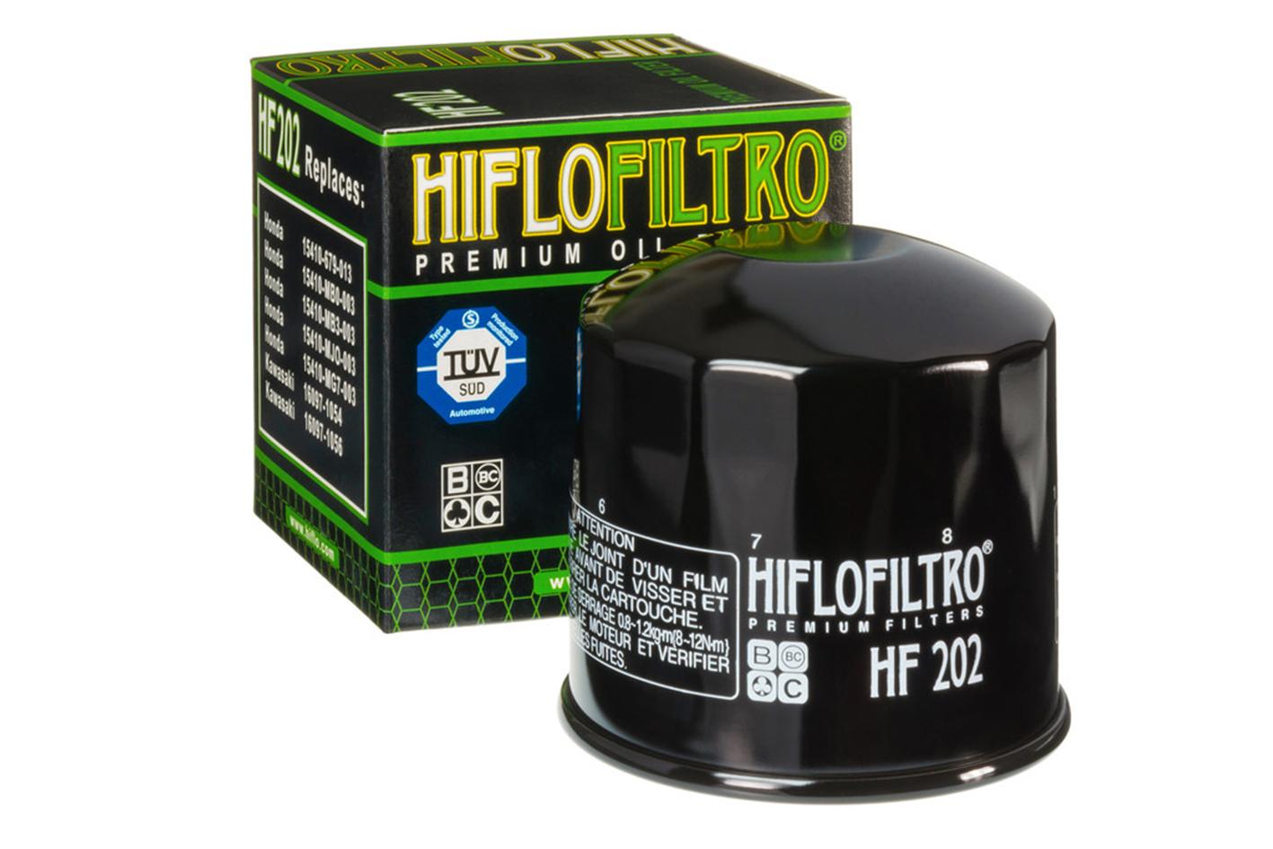 HIFLO HF202 Filtro Olio Moto Honda VF 750 Magna Kawasaki GPZ S 400 VN Vulcan - PZ