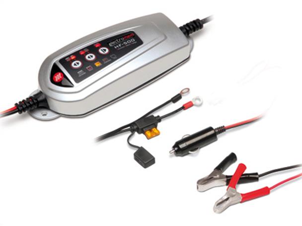 Hf500 caricabatterie e mantenitore di carica per batterie for Caricabatterie auto moto lidl