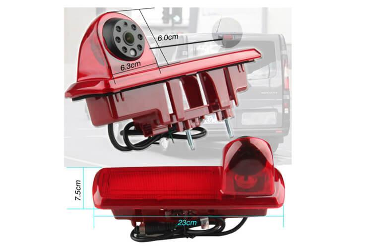 Telecamera Retromarcia Specifico Posteriore Per Furgone Opel Vivaro Renault Trafic 2014 - KIT