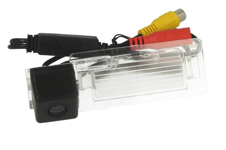 Telecamera Posteriore Per Luce Targa Specifica Audi A4L TT A5 Q5 2009-2012 Linea Guida Effetto Specchio Selezionabile - KIT