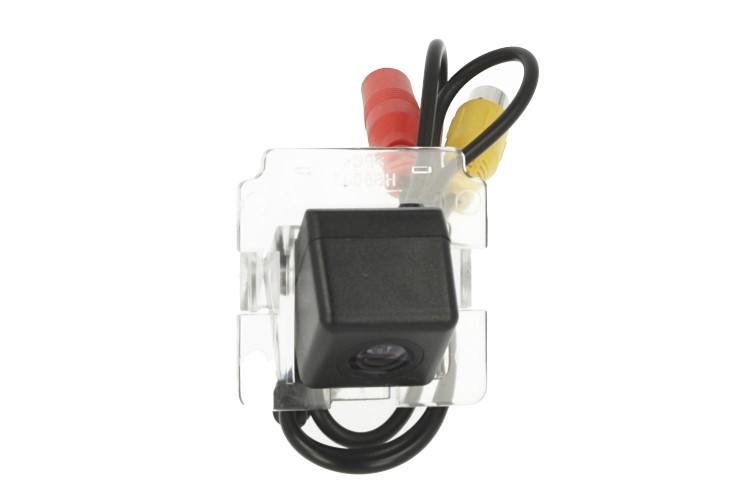 Telecamera Posteriore Per Luce Targa Specifica Mitsubishi Outlander Linea Guida Effetto Specchio Selezionabile - KIT