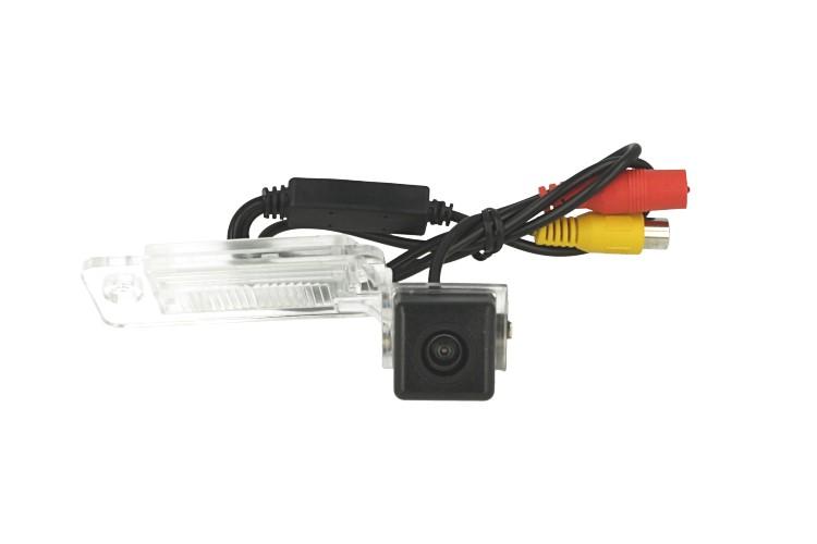 Telecamera Posteriore Per Luce Targa Specifica Audi A6L A4 A3 S5 A8L Q7 2009-2011 Linea Guida Effetto Specchio Selezionabile - KIT