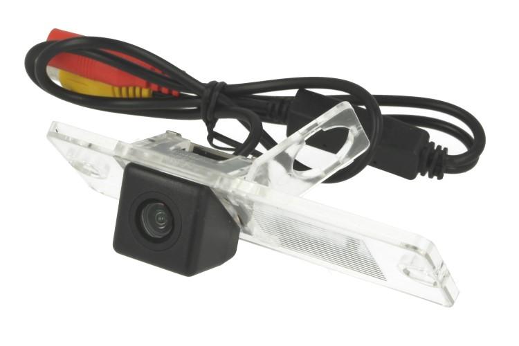 Telecamera Posteriore Per Luce Targa Specifica Mitsubishi Pajero 2009-2012 Linea Guida Effetto Specchio Selezionabile - KIT