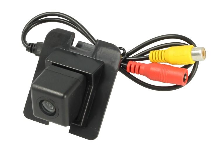 Telecamera Posteriore Per Luce Targa Specifica Mercedes Benz Serie S Linea Guida Effetto Specchio Selezionabile - KIT
