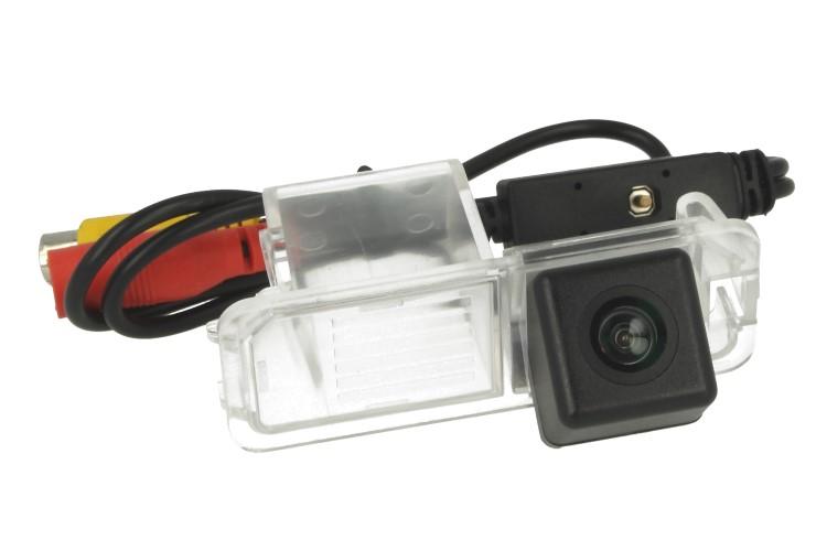Telecamera Posteriore Per Luce Targa Specifica VW Golf Polo Magotan Passat CC 2010 2011 Linea Guida Effetto Specchio Selezionabile - KIT