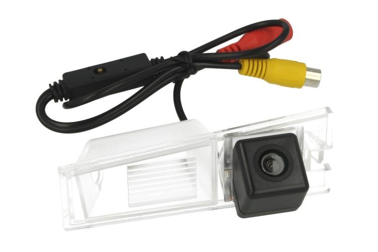 Telecamera Posteriore Per Luce Targa Specifica Cadillac CTS Linea Guida Effetto Specchio Selezionabile - KIT