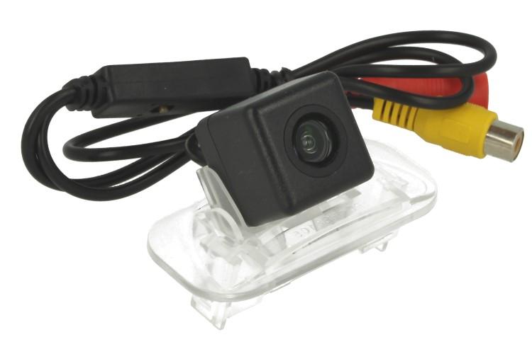 Telecamera Posteriore Per Luce Targa Specifica Mercedes Benz B200 Linea Guida Effetto Specchio Selezionabile - KIT