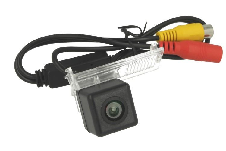 Telecamera Posteriore Per Luce Targa Specifica Citroen C5 2010-2012 Linea Guida Effetto Specchio Selezionabile - KIT