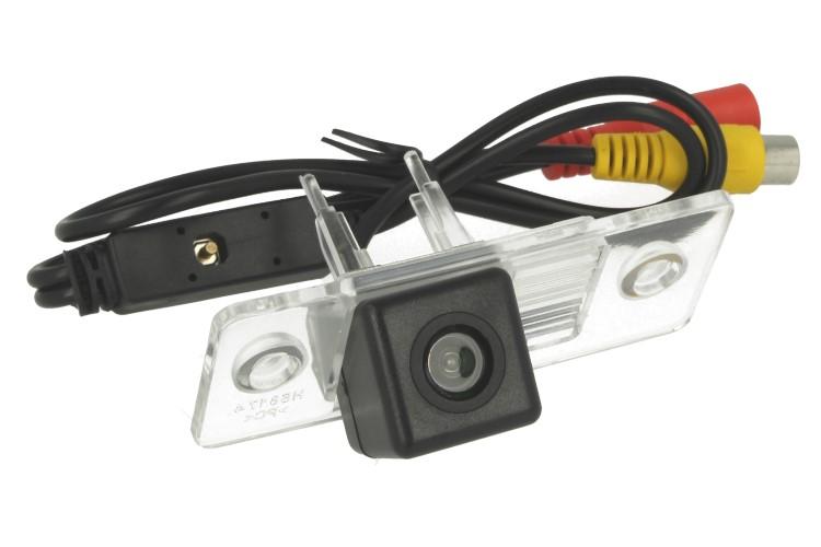 Telecamera Posteriore Per Luce Targa Specifica VW Touareg Tiguan Poussin Passat Polo Sedan Linea Guida Effetto Specchio Selezionabile - KIT