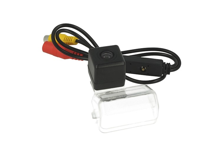 Telecamera Posteriore Per Luce Targa Specifica Mazda X80 CX-5 Pentium B50 2008-2012 Linea Guida Effetto Specchio Selezionabile - KIT