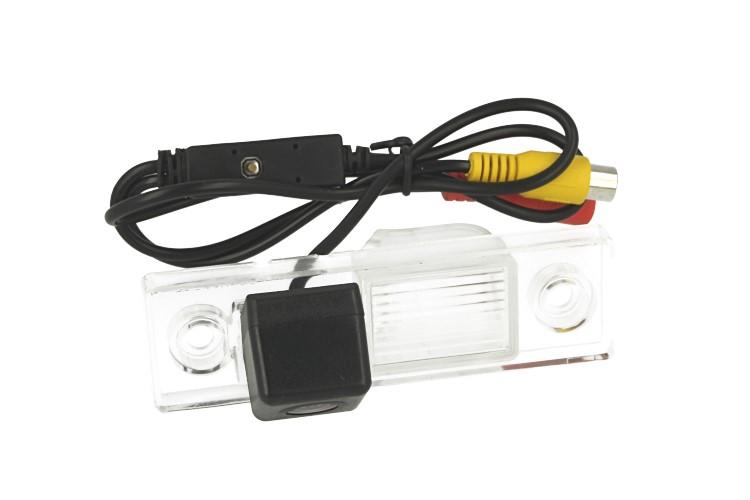 Telecamera Posteriore Per Luce Targa Specifica Chevrolet Cruze 2012 Linea Guida Effetto Specchio Selezionabile - KIT