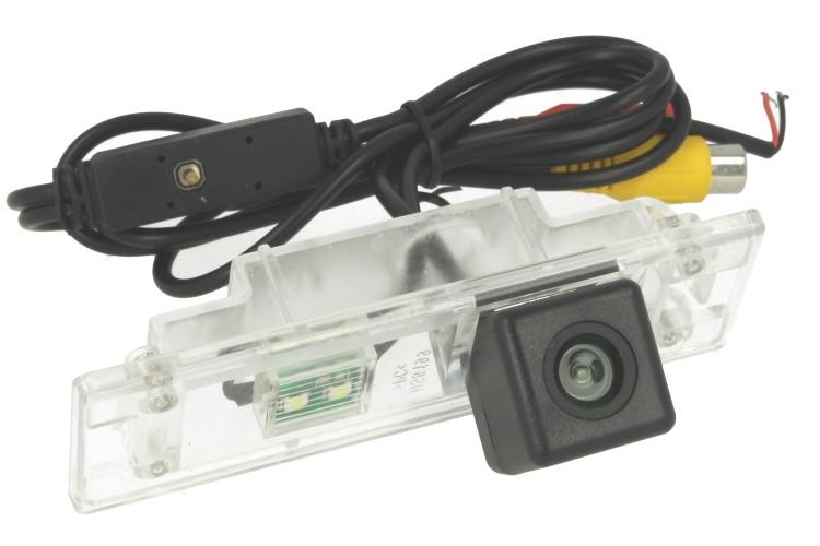 Telecamera Posteriore Per Luce Targa Specifica BMW 120I Linea Guida Effetto Specchio Selezionabile Luce Led Inclusa - KIT