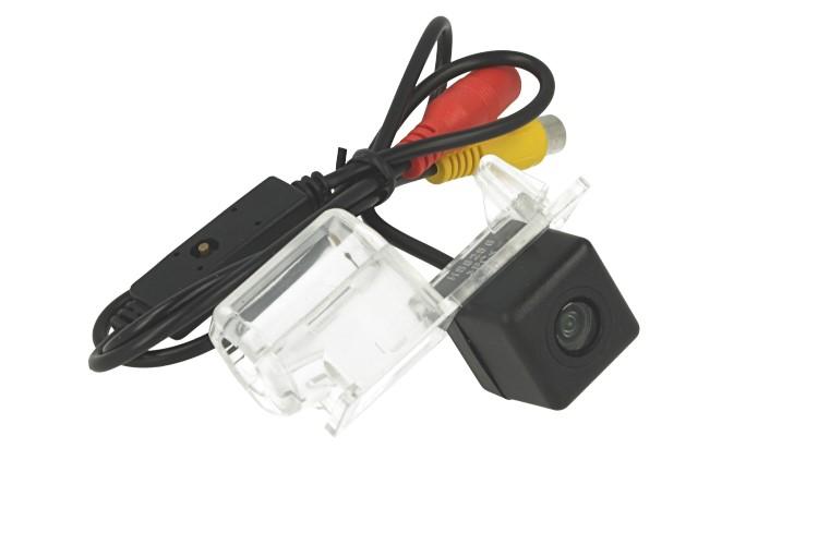 Telecamera Posteriore Per Luce Targa Specifica Ford Mondeo 2013 Linea Guida Effetto Specchio Selezionabile - KIT
