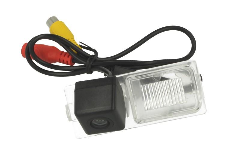 Telecamera Posteriore Per Luce Targa Specifica Ford Edge 2011 2012 Linea Guida Effetto Specchio Selezionabile - KIT
